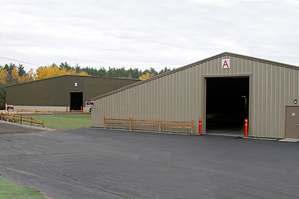 Vault Motor Storage Buildings A & B