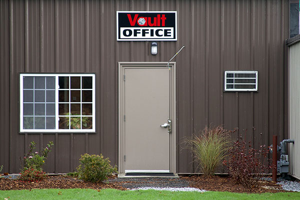 Vault Motor Storage Office Entrance
